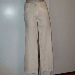 James Jeans White Twiggy style